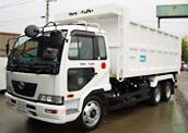 収集運搬車両 10tダンプ(19㎥)