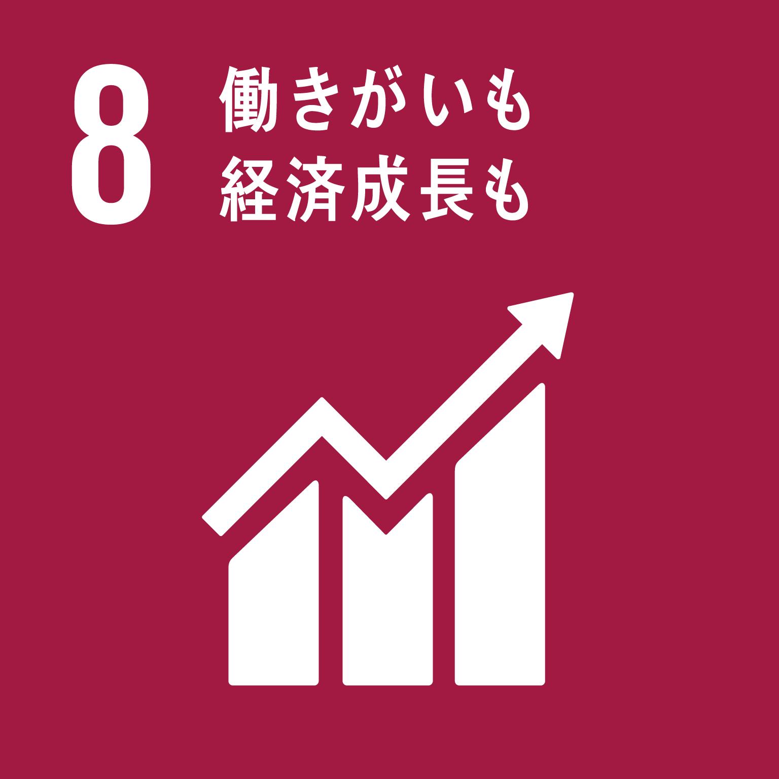 SDGs 働きがいも経済成長も
